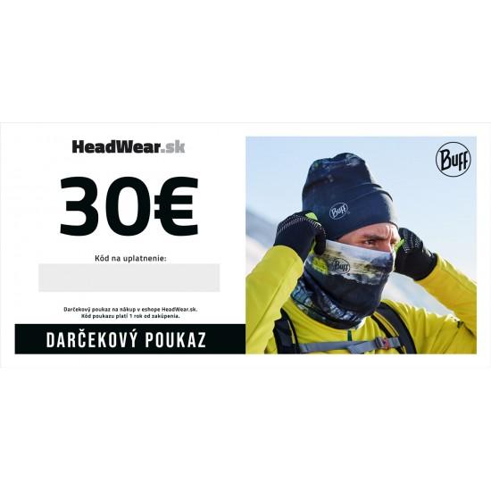 Darčekový poukaz 30€