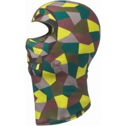 Block Skull Khaki White